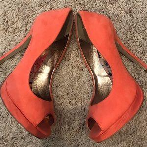 - Madden Girl Peach Heels -